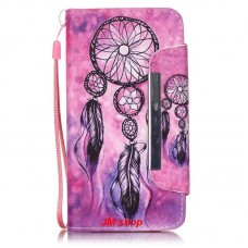 Samsung Galaxy i9060 kožený obal Dream Catcher Pink