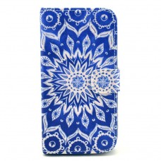 LG G2 kožený obal Blue Star