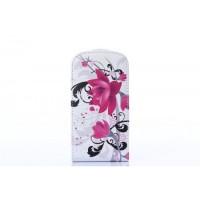 Samsung Galaxy S3 Mini kožený flip Flower - SKLADEM
