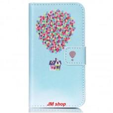 Samsung Galaxy J1 J100 kožený obal Air Ballon