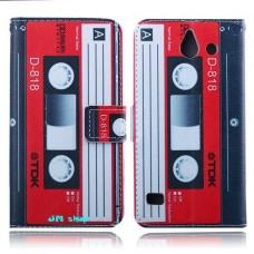 HUAWEI Ascend Y550 kožený obal Tape