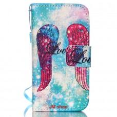 iPhone 4/ 4S kožený obal Angel Wings