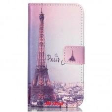 Samsung Galaxy J1 J100 kožený obal Paris