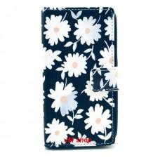 Nokia Lumia 630, 635 kožený obal Beautiful Flower - SKLADEM