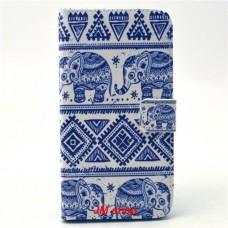 Samsung Galaxy Grand Prime kožený obal Cool Elephant