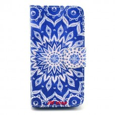 iPhone 4/ 4S kožený obal Blue Star
