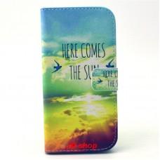 HTC One M9 kožený obal THE SUN