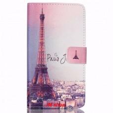 Motorola Moto X Play kožený obal Paris