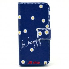 iPhone 5S kožený obal Be Happy