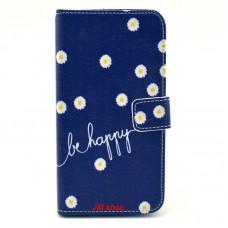 Samsung Galaxy S5 Mini kožený obal Be Happy Flower