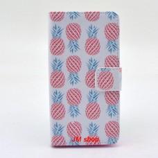 Sony Xperia Z3 Compact kožený obal Pineapple