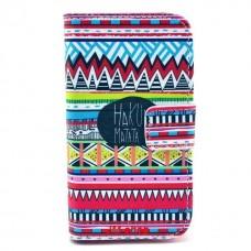 Samsung Galaxy Ace 2 kožený obal Hakuna Matata