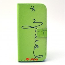 HTC One M9 kožený obal Laugh