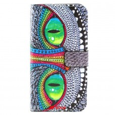 Samsung Galaxy S6 Edge Plus kožený obal Big Eyes