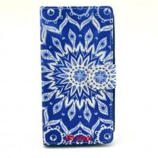 Nokia Lumia 630, 635 kožený obal Blue Star
