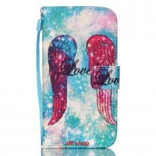 Samsung Galaxy S5 Mini kožený obal Angel Wings