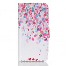 iPod Touch 5th kožený obal Lots Flower
