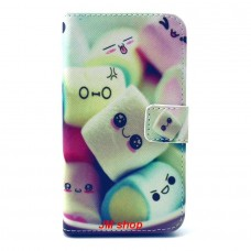 Samsung Galaxy Core Prime kožený obal Marshmallow