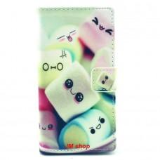 Nokia Lumia 830 kožený obal Marshmallow