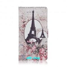 LG G3 kožený obal Eiffel Tower