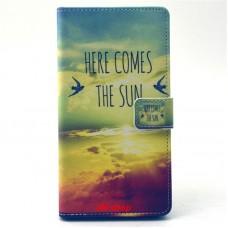 Sony Xperia T3 kožený obal THE SUN