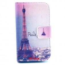 Samsung Galaxy Fame kožený obal Paris