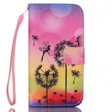 Samsung Galaxy S5 Mini kožený obal Dandelions Fairies