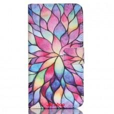 LG Nexus 5X kožený obal Colorful daffodils