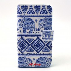 Samsung Galaxy Core Prime kožený obal Cool Elephant