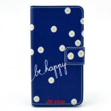 Sony Xperia Z3 Compact kožený obal Be Happy Flower