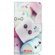 Samsung Galaxy J1 J100 kožený obal Marshmallow - SKLADEM
