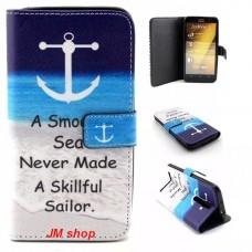 Asus Zenfone 2 kožený obal Smooth Sea