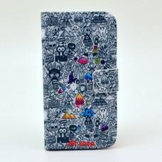 Samsung Galaxy S3 i9300 kožený obal Cartoon World