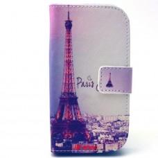 Samsung Galaxy G310 kožený obal Paris