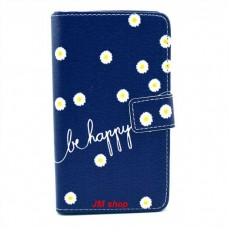 Sony Xperia SP kožený obal Be Happy Flower