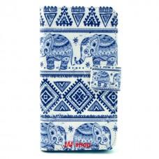 Samsung Galaxy Alpha kožený obal Cool Elephant