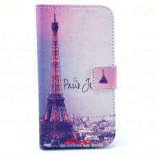 Samsung Galaxy S3 i9300 kožený obal Eiffel Tower - SKLADEM
