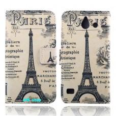 HUAWEI Ascend Y550 kožený obal Paris