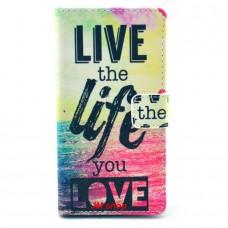 Nokia Lumia 830 kožený obal LIVE