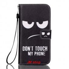 Samsung Galaxy S7 Edge kožený obal Black Eyes