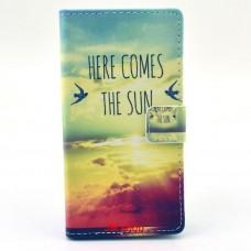 Nokia Lumia 830 kožený obal THE SUN