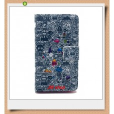 Nokia Lumia 520, 525 kožený obal Cartoon World