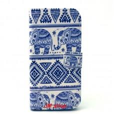 HTC One M9 kožený obal Cool Elephant