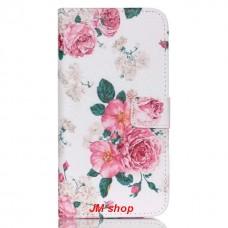 HUAWEI Nexus 6P kožený obal Penoy Flower