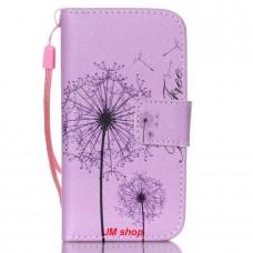 iPhone 4/ 4S kožený obal Be Free Dandelions