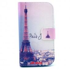 Samsung Galaxy G313 kožený obal Paris
