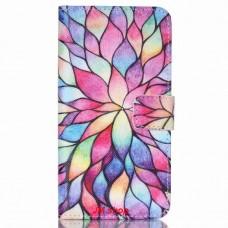 HTC Desire 626 kožený obal Colorful daffodils