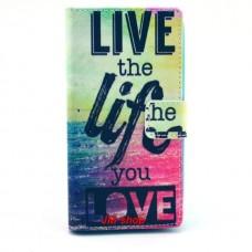 Nokia Lumia 630, 635 kožený obal LIVE