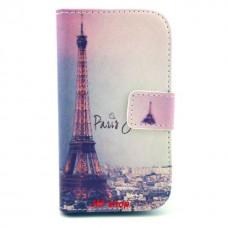 Samsung Galaxy Ace 3 kožený obal Paris