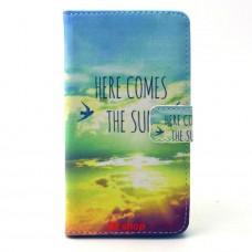 Samsung Galaxy A5 kožený obal THE SUN